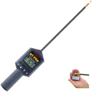 AgraTronix™ HT-PRO™ Hay Moisture/Temperature Tester with 20 Probe, 8-45% Moisture
