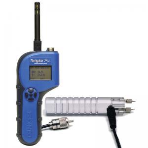 Delmhorst Navigator NavPro Wood Moisture Meter, Hygrometer with RH/T Sensor, 21E and Case (DHNAVPROBP)