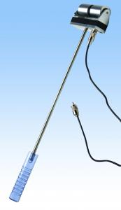 Delmhorst 12E Double Roller Paper Electrode for measuring moisture content on a moving web.