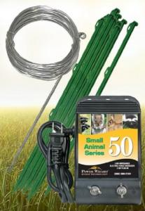 Agratronix Power Wizard Small Animal Electric Fence Kit, GS-50