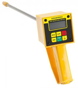 Draminski Hay & Silage High-Moisture Meter Plus Temperature with Fixed 22 Probe