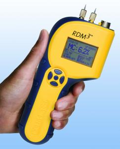 Delmhorst RDM3 Wood Moisture Meter Plus with 21E, Contact Pins and Case